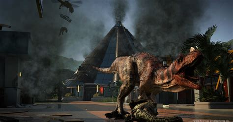 Jurassic World: Evolution: video game tie-in is the park