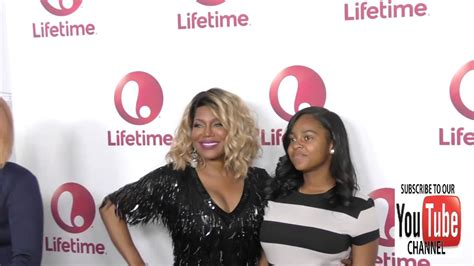 Michel'le and Bailei Knight at the Lifetime Television