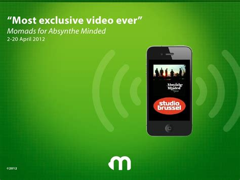 Absynthe Minded - mostexclusivevideoever