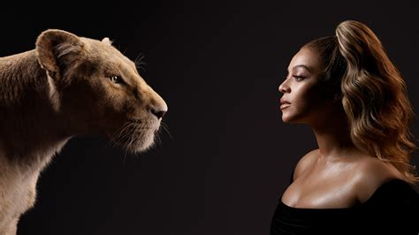 Beyonce as Nala in The Lion King Wallpapers   HD