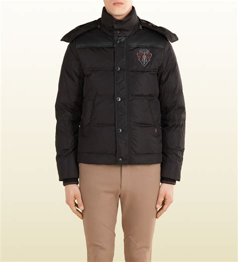 Gucci Down Jacket With Crest From Equestrian Collection in