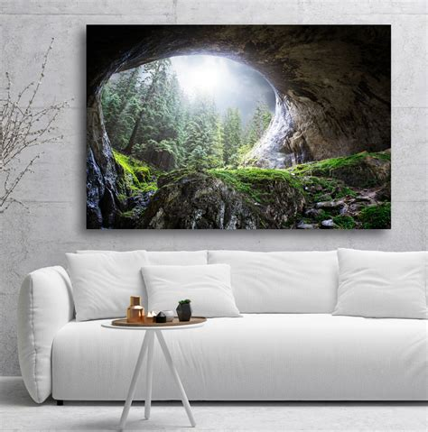 Photo Art - Light in the end of the tunnel | Canvasbutik