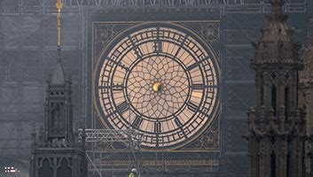 Big Ben clock hands amputated in accordance with Sharia