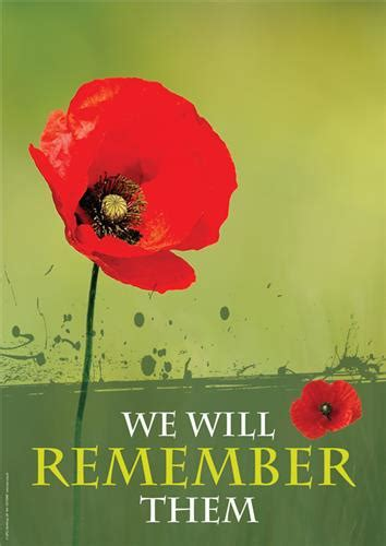 Remembrance Day - Christian Posters for Churches